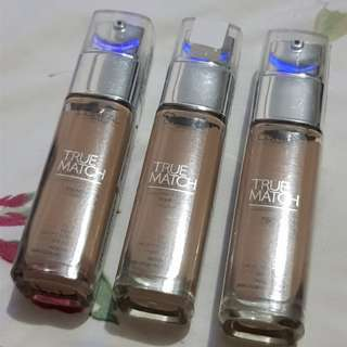 L'OREAL True Match liquid foundation N4