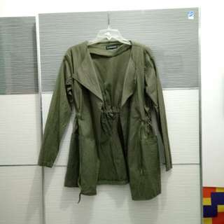 Sixence army parka jacket (no hoodie)