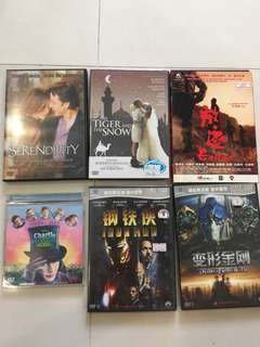 DVD Movies for sale at $8