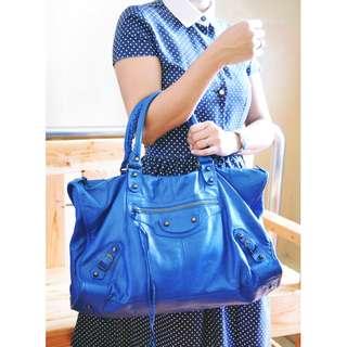 Authentic Balenciaga Work Shoulder Bag