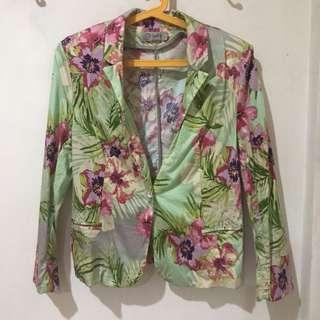 Just G Floral blazer