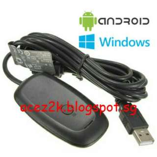 [BN] PC / Android Wireless USB Gaming Receiver For Xbox 360 Controller (Brand New)