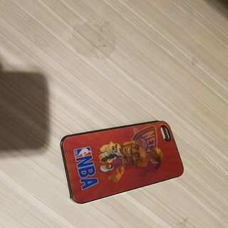 Iphone 5 case nba hologram