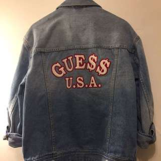 GUESS x A$AP Rocky Denim jacket