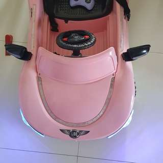 Electric car (Pink)