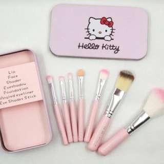 Hello kitty 7pcs mini brush