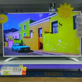"Sharp LED TV 40"" Cicilan Tanpa Kartu Kredit Proses 3menit Cair free 1x Angsuran"