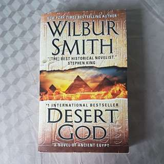 Desert God, By Wilbur Smith