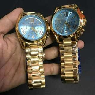Authentic Michael Kors Couple Watch