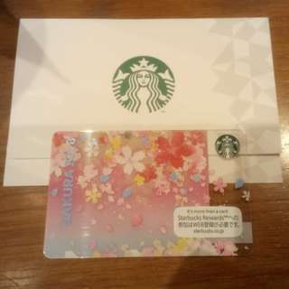 Starbucks Japan Sakura 2018 Card