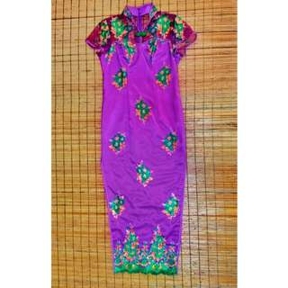 Mother of the Bride Cheongsam