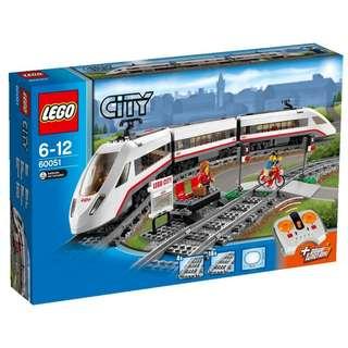 *LegoAsh* 60051 High Speed Passenger Train