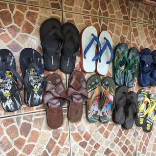 Take all Slippers fo Sale!!! for only 250 Fits to 4-6 years old
