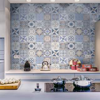 Peranakan Wall Paper (100cm x 60cm) Home Decor