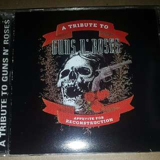 Music CD: Various ‎– A Tribute To Guns N' Roses: Appetite For Reconstruction