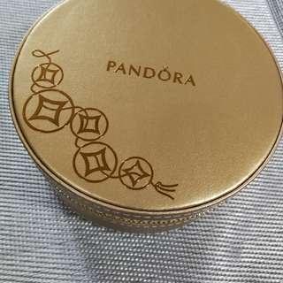 Pandora 2018 box golden color