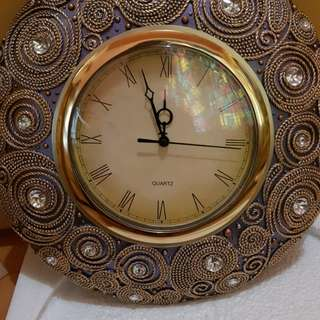Beaded Wall Clock