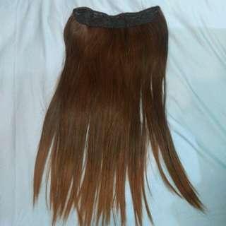 HAIR EXTENSIONS (BROWN)