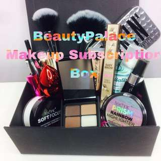 BeautyPalace monthly makeup subscription box #huat50sale