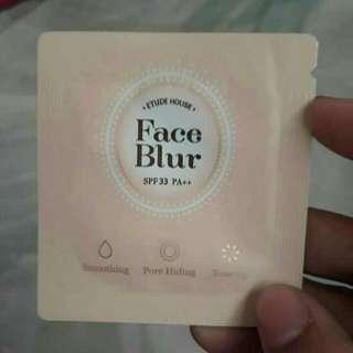 Etude House Face Blur Samplers Sachet