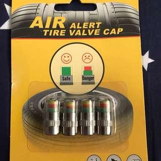 Air alert value cap