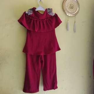 Set Baju Anak Baru