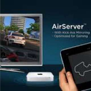 Airserver App 序號 (完全取代 Apple TV及airplay可以所有畫面輸出 / 音效輸出)
