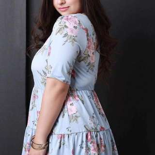 (cd) Plussize top fits upto XL