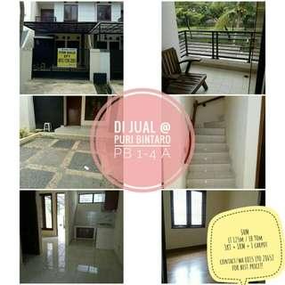 Rumah di Puri Bintaro sektor 9..jual cepat