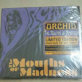 Music CD (Metal, Doom): Orchid –The Mouths Of Madness - Nuclear Blast Records