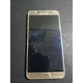 Samsung Note 5 Duos Gold NTC Defective
