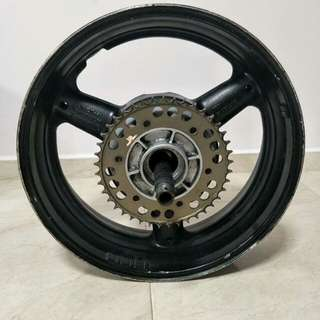 Rear rim Hayabusa GSXR 1300 wheel gsx