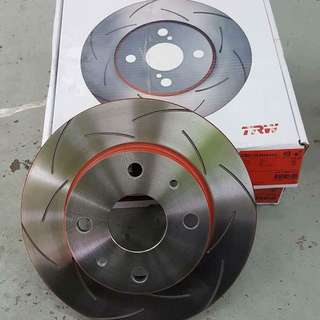 TRW XPS sport performance brake disc rotor