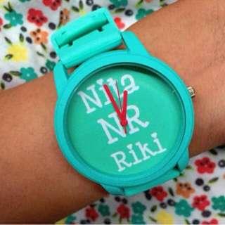 Jam tangan custom (model DEVAR)