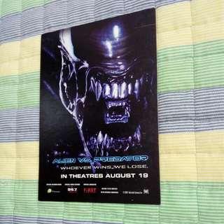 Alien Vs Predator Postcard