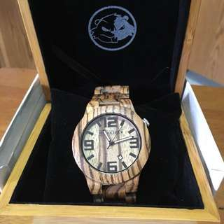 Watch made of Wood