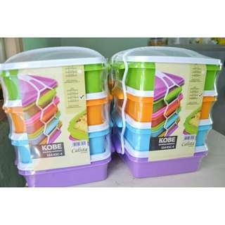 Lunch Box Premium 4 susun BPA Free