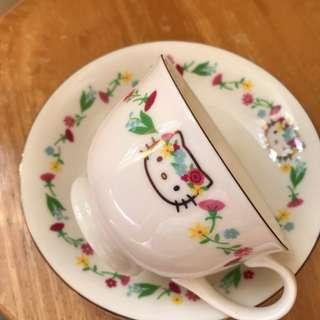 全新正版Sanrio Hello Kitty 咖啡杯 / 耳仔杯
