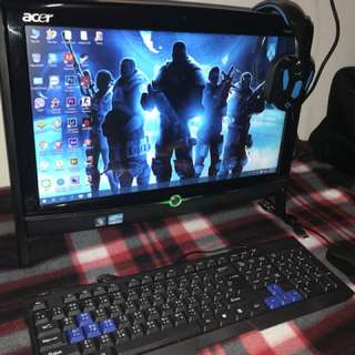 Acer All in One Core i3 Touch Screen 23inch