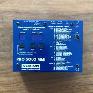 Kenton Pro-solo MKII // Midi - CV converter