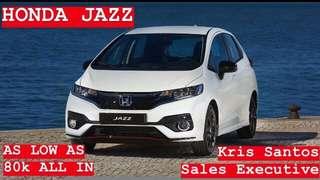 Brand New Honda Jazz