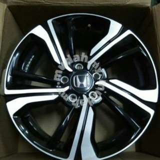 Original Civic FC Enkei 17 inch Rims