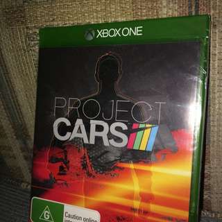 PROJECT CARS UNOPENED