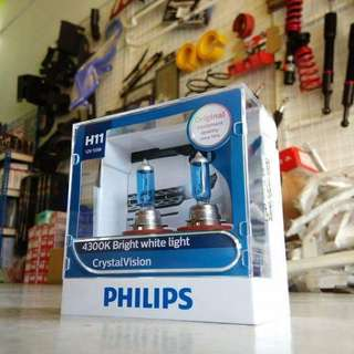 Philip Crystal 4300k Diamond 5000k Vision Bulb