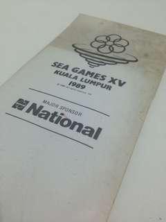 SEA GAMES XV (kuala lumpur 1989) Tie