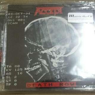 Music CD (Hard Rock, Metal): Accept–Death Row
