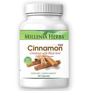 Cinnamon + Black Seed