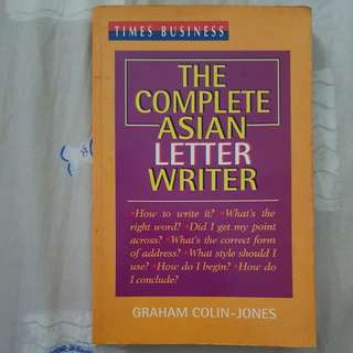 *Free* The Complete Asian Letter Writer