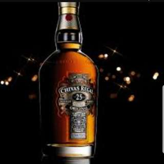 Chivas-Jack Daniel-Johnnie Walker Black Label -