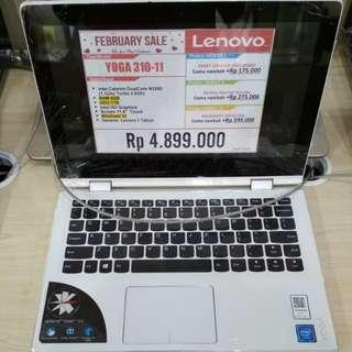 Lenovo 310-11 bisa cicilan tanpa kartu kredit